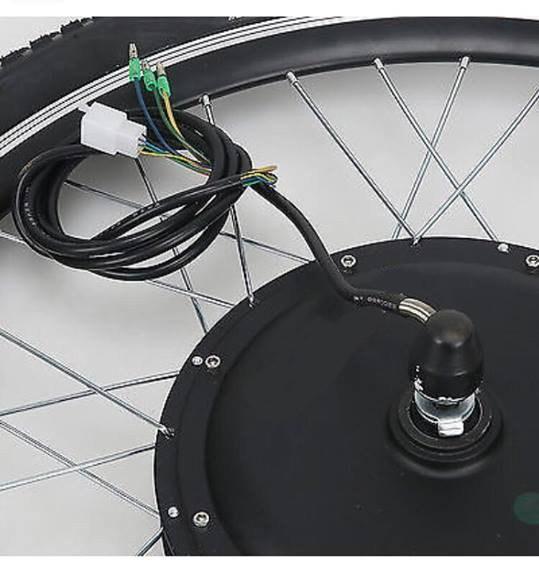 koło z silnikiem elektrycznym