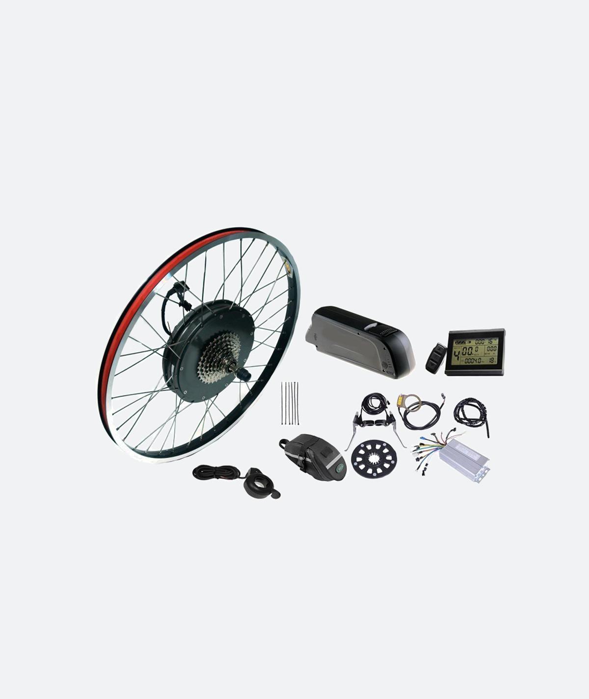 napęd elektryczny do roweru - elementy