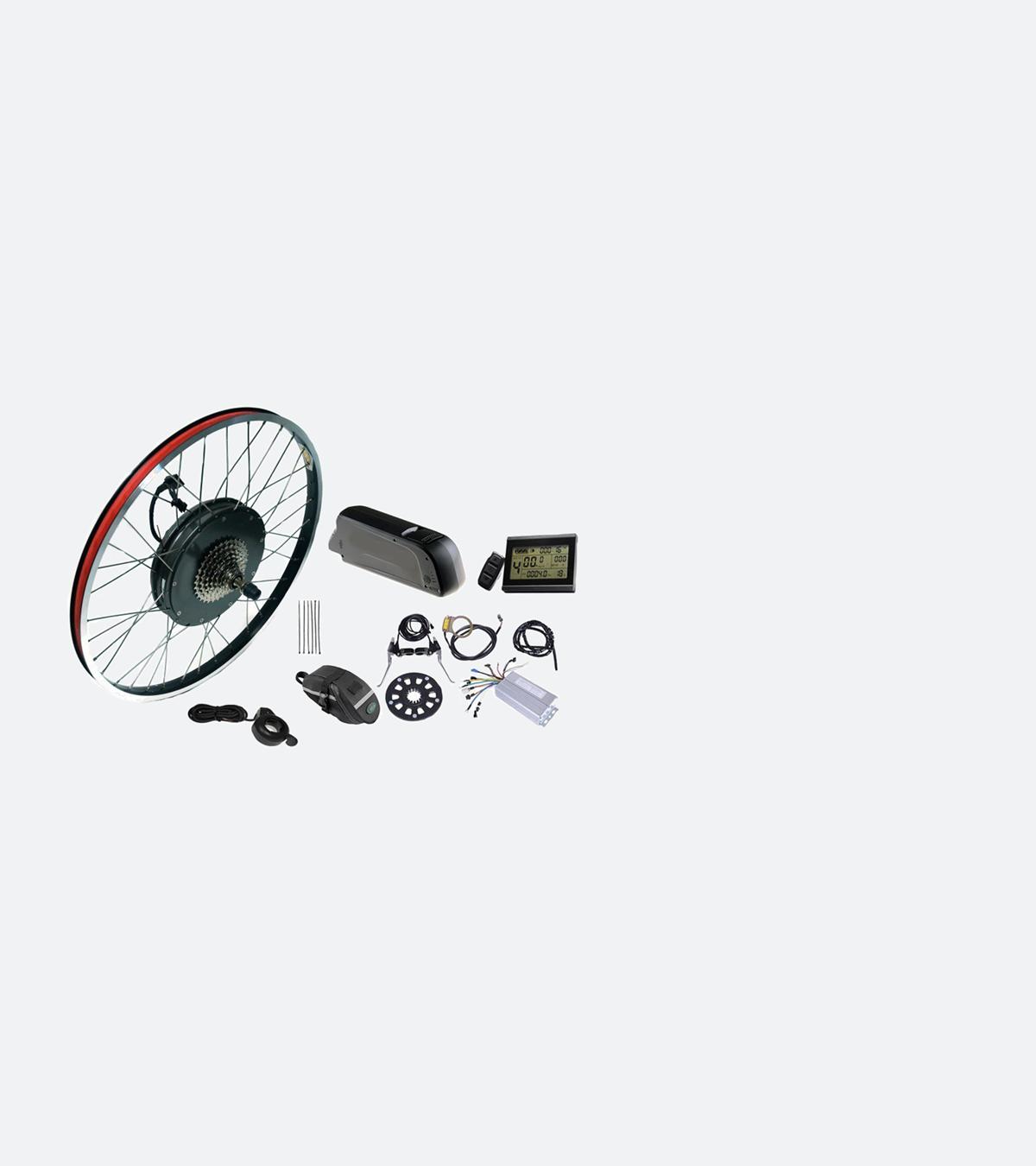zestaw do roweru elektrycznego 36V 500W