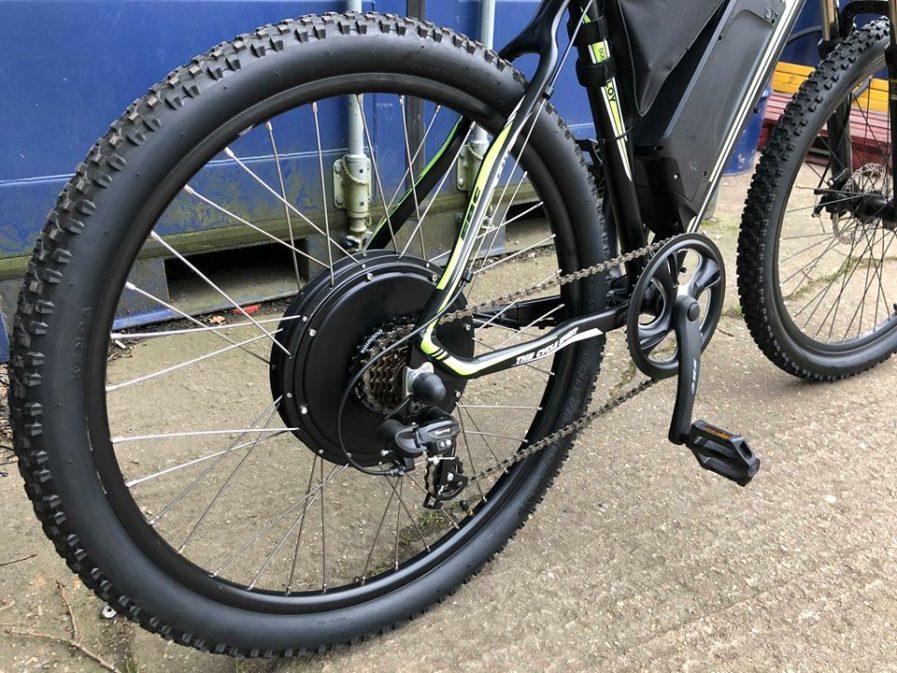 rower elektryczny Fireball Energy Bike 1000W