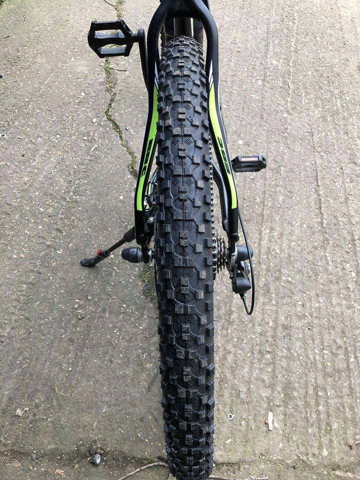 górska, terenowa opona w rowerze elektrycznym