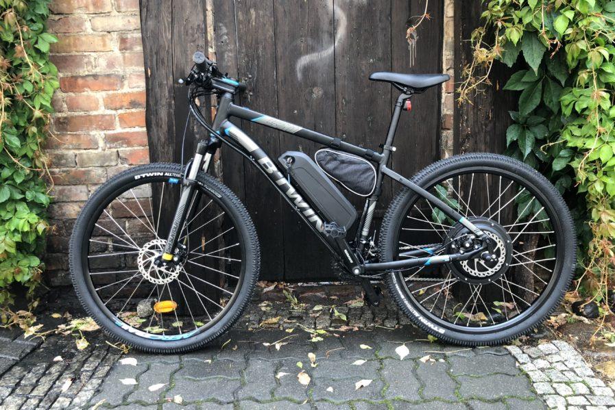rower elektryczny 60 km/h
